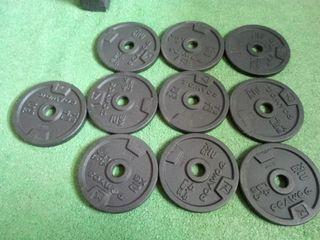 pesas para gimnasio