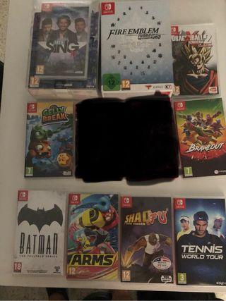 Juegos Nintendo switch o cambio