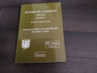 Historia de la Filosofía Bachillerato