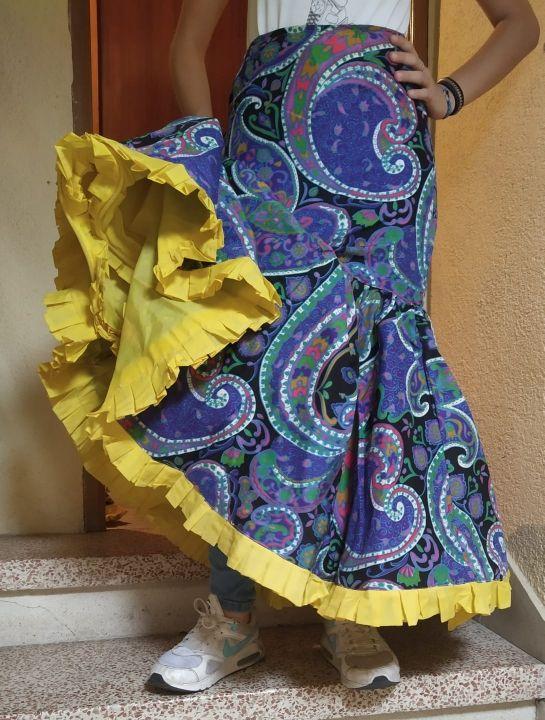 faldas flamenco/sevillanas años 70