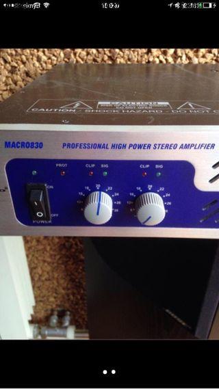 Amplificador profesional Alto