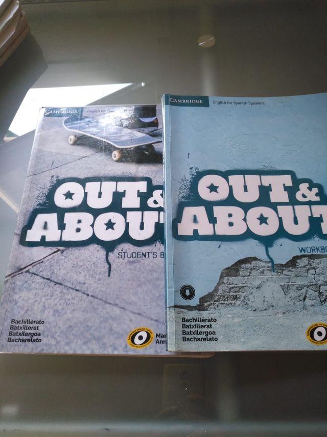 Libros 1º bachillerato inglés cambrige OUT&ABOUT