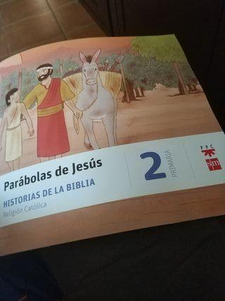 Parábolas de Jesús 2°primaria religión católica