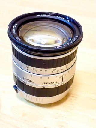 Sigma 28-200 + Canon EOS 500N