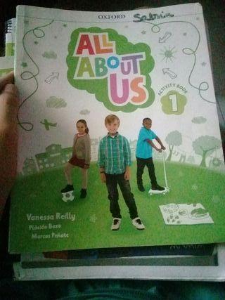 libros de ingles de primero de primaria