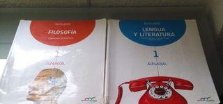 Libros 1º bachillerato editorial anaya