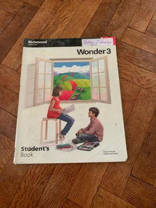 Libro de inglés 3 de primaria