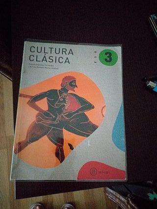 Libro texto cultura clásica 3 eso