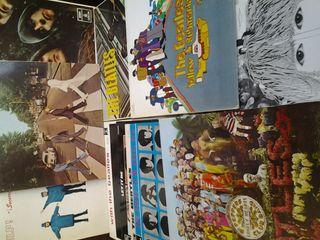 Colección 12 discos vinilo LP THE BEATLES