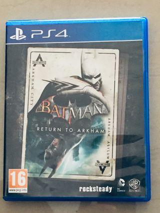 Batman Return to Arkham PS4 !!nuevo!!