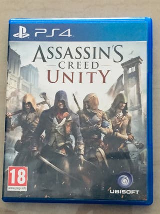 Assasin's creed Unity PS4
