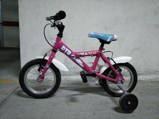 Bicicleta niña DTB FUN 120