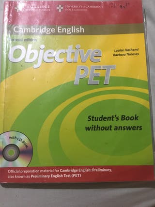 Objective pet (libro inglés)
