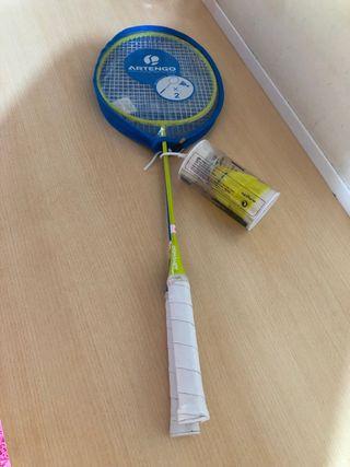 Raquetas badminton.