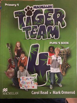 Libro de inglés 4 de primaria