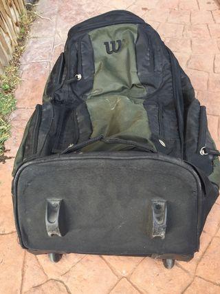 Bolsa viaje y deporte Wilson con ruedas