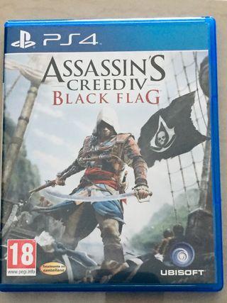 Assasin's creed IV Black Flag PS4