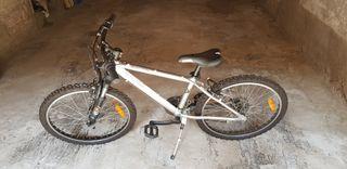 Bicicleta ROCKRIDER RR5.2 FINISHER ALUMINIO