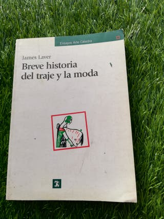 """Libro """"Breve historia del traje y la moda"""""""