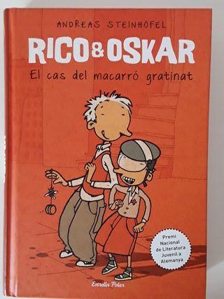 Libro EL CAS DEL MACARRÓ GRATINAT (RICO & OSKAR)