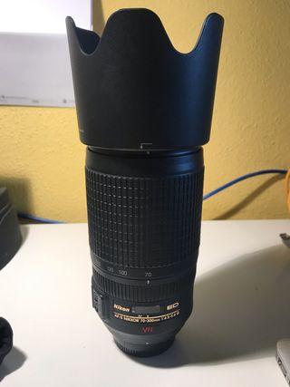 Objetivo Nikon 70-300 VR 1:4,5-5,6G