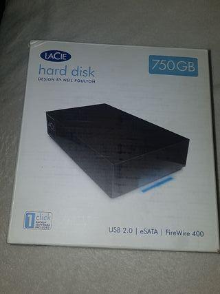 LACIE DISCO DURO 750 GB