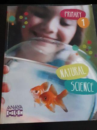 Libro de Inglés 1° de primaria