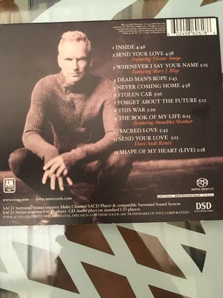 Limited Edition CD STING