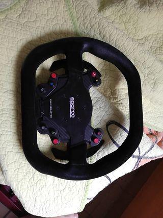 volante thrustmaster sparco