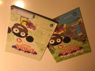 Libros inglés 4º de primaria -Pearson