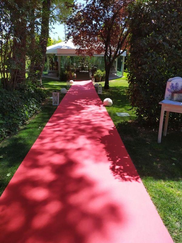 Alfombra roja bodas y eventos