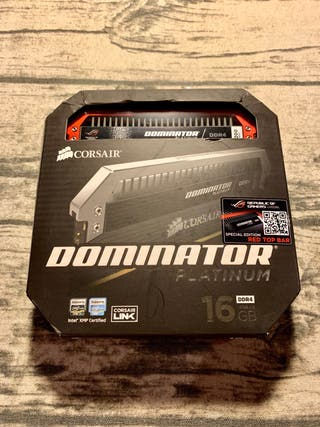 CORSAIR DOMINATOR® PLATINUM ROG 16GB DDR4 3200MHz