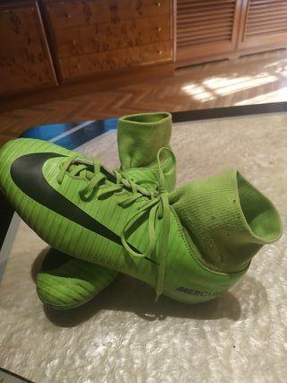 Zapatillas Nike Mercurial talla 38.5