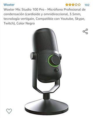 Micrófono profesional Woxter 100 pro