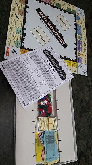 Juego de mesa Anti-Monopoly