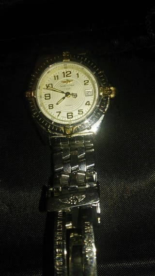 Reloj Breitling Quartz acero y oro