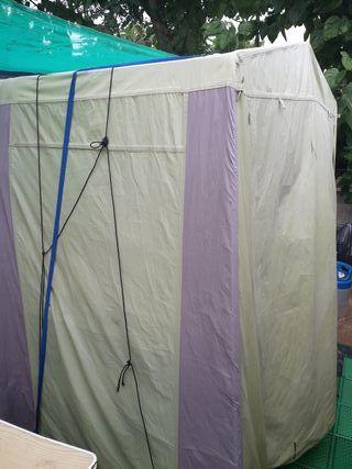 tienda cocina camping