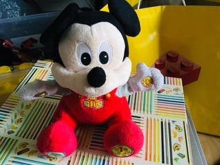Peluche mickey mouse canciones clementoni