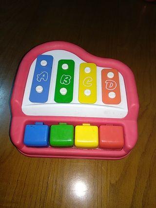 piano xilófono bebé