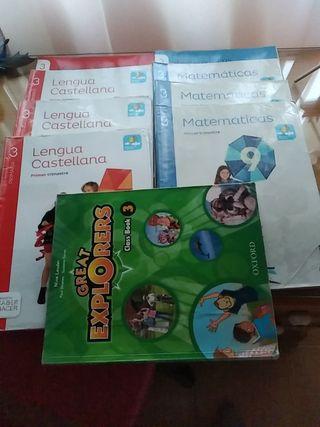 lote libros 3°primaria