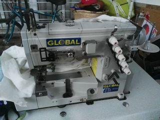 maquina de coser recubridora industrial