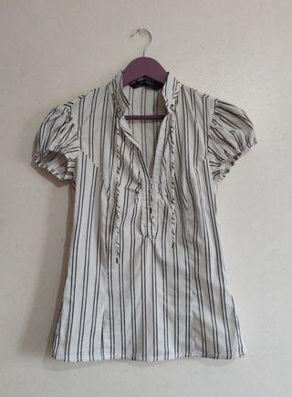 Camisa de rayas verticales - Zara