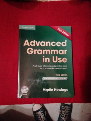 libro inglés advanced grammar in use