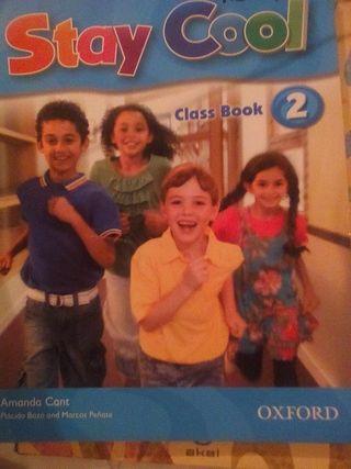 Libro de 2° primaria de inglés stay cool