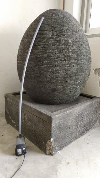 fuente de agua para decoración de exteriores