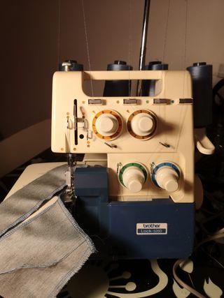 máquina de coser remalladora (overlock) brother!