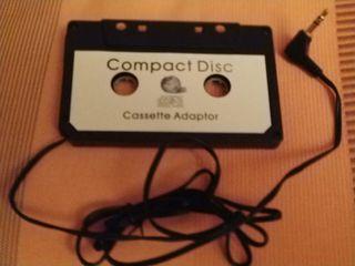 Adaptador de cassette con jack de 3.5