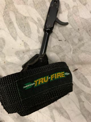 Arco fibra carbón con poleas
