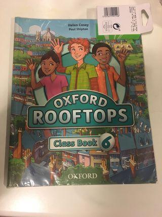 Libro inglés Oxford Rooftops 6 primaria