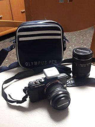 Cámara de fotos Olympus PEN Lite E-PL6